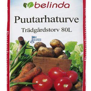 Belinda Puutarhaturve on kotimainen peruslannoitettu ja kalkittu kasvualusta turpeesta