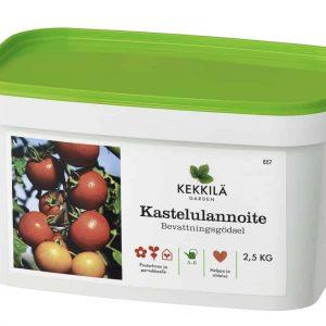 Kekkilä kastelulannoite kätevässä pakissa on hoitolannoite kaikille kasveille