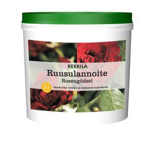 Kekkilä ruusulannoite on ruusuille tarkoitettu nestemäinen kasviravinne