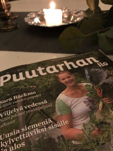 Ilmainen Puutarhan Ilo lehti tarjoaa vinkkejä kesäksi puutarhaan ja parvekkeelle