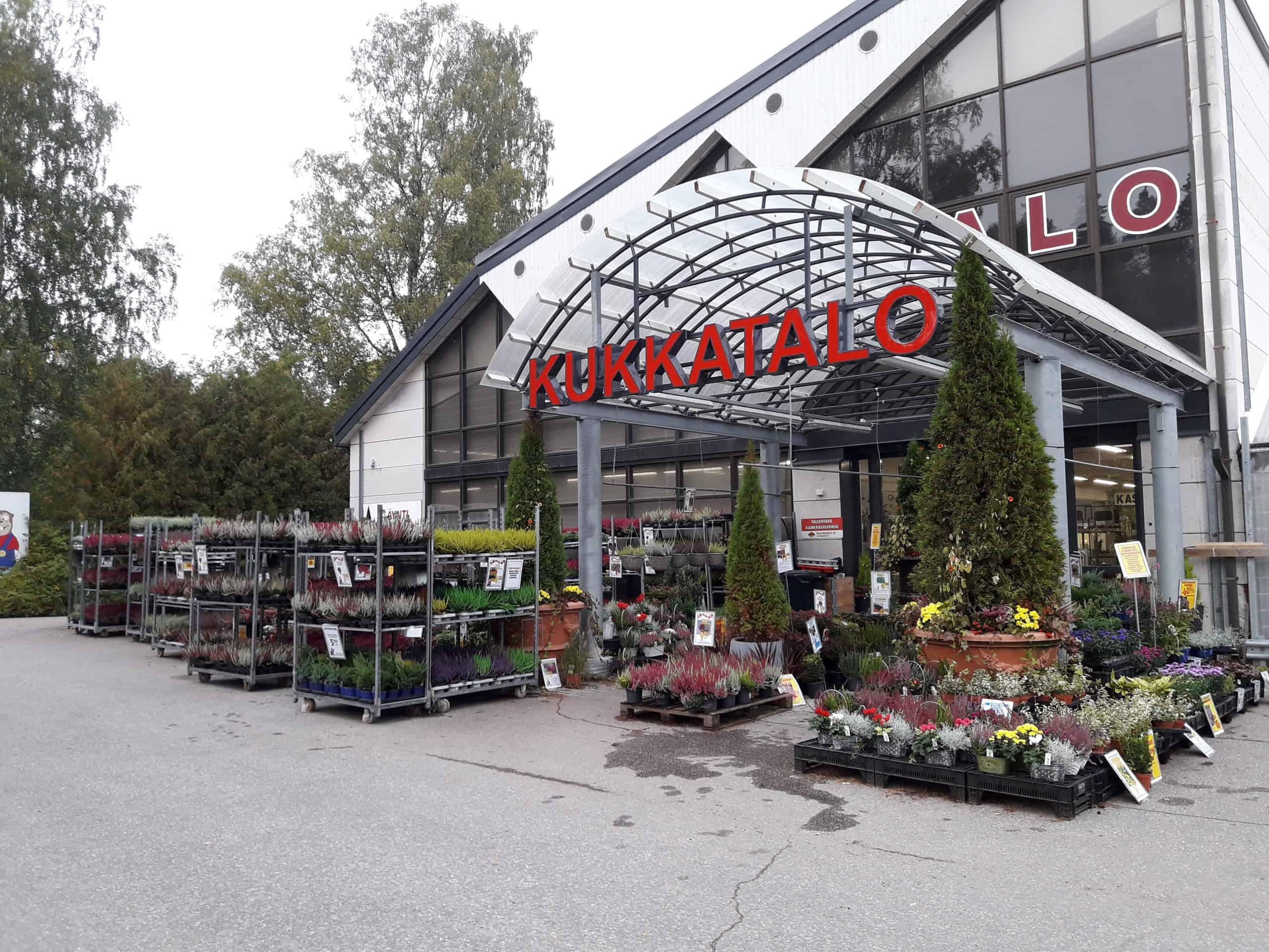 Pirilän Kukkatalo Riihimäki Uramontie